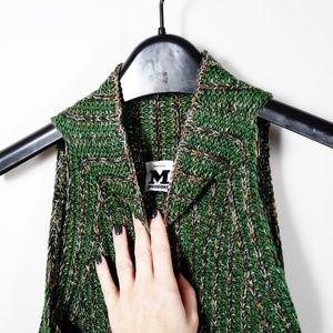 M Missoni Sleeveless Knit Dress (Green) Size Small